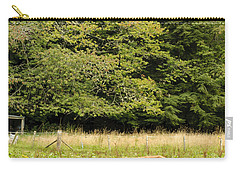 Carry-all Pouch featuring the photograph Out To Pasture by Christi Kraft