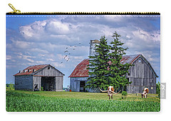 Out To Pasture Carry-all Pouch by Mary Timman