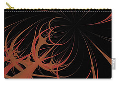 Carry-all Pouch featuring the digital art Outbreak by Dragica  Micki Fortuna