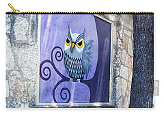 Carry-all Pouch featuring the painting Outdoor Art Walk by Ella Kaye Dickey