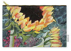 Outdoor Sunflowers Carry-all Pouch