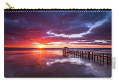 Outer Banks Duck North Carolina Sunset Seascape Photography Obx Carry-all Pouch