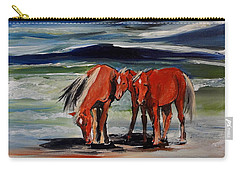 Outer Banks Wild Horses Carry-all Pouch