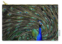 Outrageous Peacock Carry-all Pouch