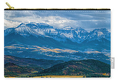 Outside Of Ridgway Carry-all Pouch by Alana Thrower
