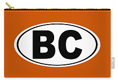 Carry-all Pouch featuring the photograph Oval Bc Boulder City Colorado Home Pride by Keith Webber Jr
