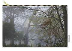 Carry-all Pouch featuring the photograph Over The Back Fence View by Laura Ragland