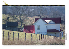 Over The Hill And Down The Road - Pastel Carry-all Pouch