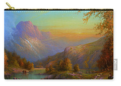 Over The Hills To Killarney Carry-all Pouch by Joe Gilronan