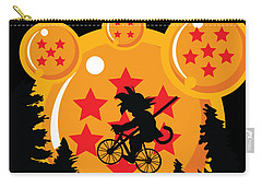 Carry-all Pouch featuring the digital art Over The Moon by Christopher Meade