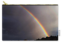 Over The Rainbow Carry-all Pouch by Joseph Frank Baraba