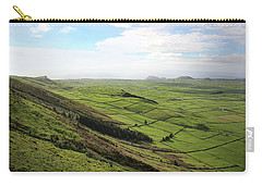 Over The Rim On Terceira Island, The Azores Carry-all Pouch