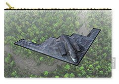 Over The River And Through The Woods In A Stealth Bomber Carry-all Pouch