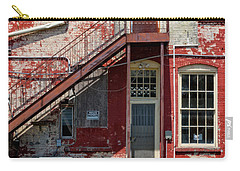 Carry-all Pouch featuring the photograph Over Under The Stairs by Christopher Holmes