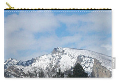 Carry-all Pouch featuring the photograph Overlooking Blodgett by Jewel Hengen