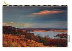 Overlooking Culvers Lake Carry-all Pouch by Raymond Salani III