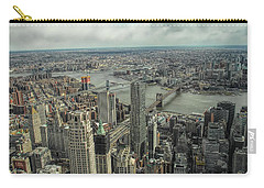 Overlooking Manhattan's East River  Carry-all Pouch