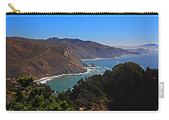 Overlooking Marin Headlands Carry-all Pouch