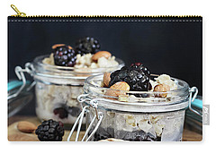 Overnight Oatmeal With Blackberries And Honey Carry-all Pouch