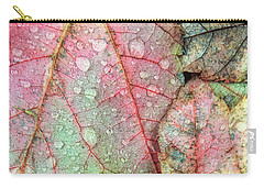Overnight Rain Leaves Carry-all Pouch by Todd Breitling
