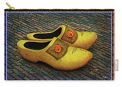 Carry-all Pouch featuring the photograph Oversized Dutch Clogs by Hanny Heim