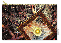 Carry-all Pouch featuring the digital art Overton Window by Anastasiya Malakhova