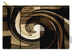 Carry-all Pouch featuring the digital art Overwhelmed by Lenore Senior