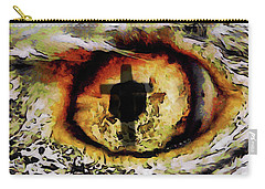 Overwhelmed Remember Him Carry-all Pouch by Ernie Echols