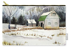Owen County Winter Carry-all Pouch by Katherine Miller