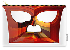 Owl Face Carry-all Pouch by Thibault Toussaint