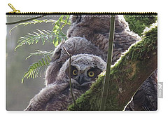 Owl Morning Carry-all Pouch
