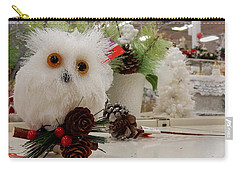 Owl On The Shelf Carry-all Pouch