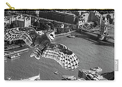 Owl Over The Tower Carry-all Pouch