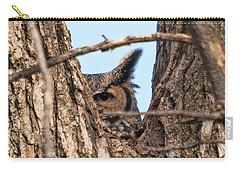 Owl Peek Carry-all Pouch