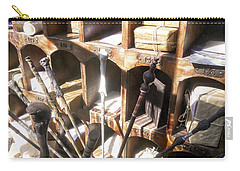 Carry-all Pouch featuring the photograph Owl Post Office Hogsmeade by Juergen Weiss