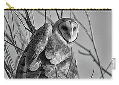 Owl Whites Carry-all Pouch
