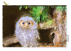 Owlet-baby Owl Carry-all Pouch by Maciek Froncisz