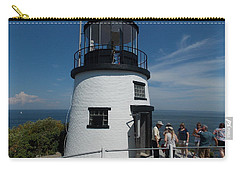 Owls Head Light Carry-all Pouch by Catherine Gagne