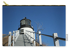 Owls Head Lighthouse Winter Carry-all Pouch