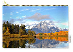 Mt Moran At Oxbow Bend Carry-all Pouch