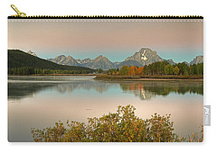 Carry-all Pouch featuring the photograph Oxbow Bend by Gary Lengyel