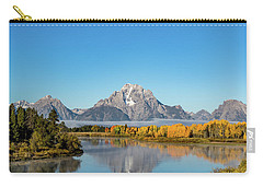 Oxbow Bend Reflecting Carry-all Pouch by Mary Hone