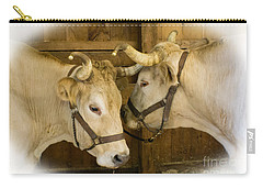 Oxen Team Carry-all Pouch