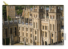 Carry-all Pouch featuring the photograph Oxford Spires by Brian Jannsen