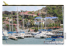 Carry-all Pouch featuring the photograph Oyster Bay Marina by Margaret Bobb