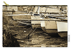 Oyster Boats Laid Up At Mylor Carry-all Pouch