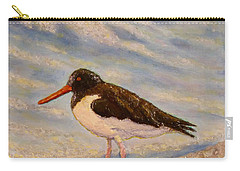 Oyster Catcher Carry-all Pouch by Joe Bergholm