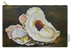 Oyster Shell Still Life Carry-all Pouch