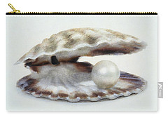 Oyster With Pearl Carry-all Pouch