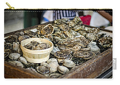 Oysters At The Market Carry-all Pouch